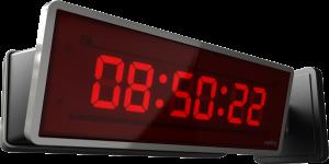 Customization Nation with Sapling Digital Clocks