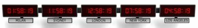 Sapling Time Zone Clocks: Corporate Function & Style