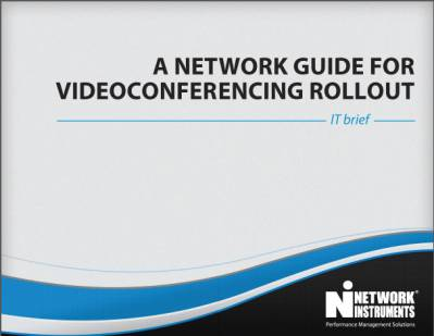 IT Brief- Network Guide to Videoconferencing Rollout