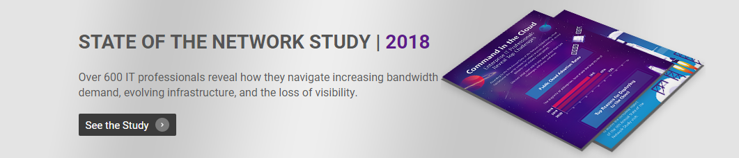 VIAVI'S State of the Network Study 2018
