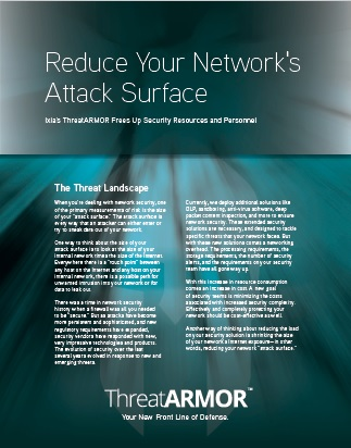 Reduce Your Network Attack Surface
