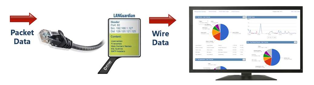 NetFort LANGuardian Wire Data Analytics