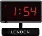 Sapling's Time Zone Clock System