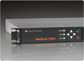 Spectracom NetClock Public Safety Master Clock