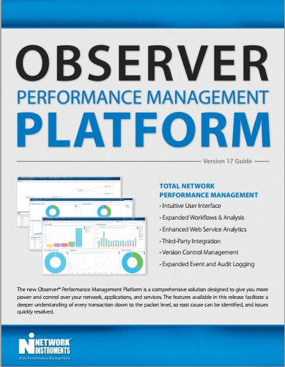 Observer Platform Performance Management