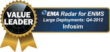 Infosim StableNet EMA Award Value Leader 2014 in Network Monitoring Software