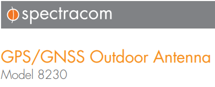 Spectracom 8230 GPS Antenna for Time Servers