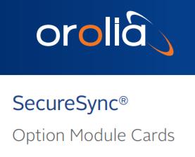 SecureSync® Option Module Cards