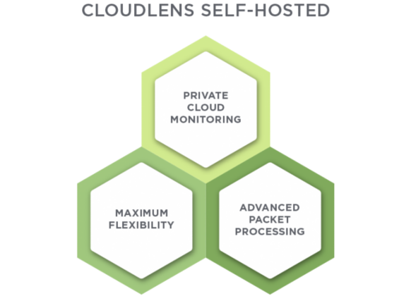 CloudLens Self Hosted Diagram