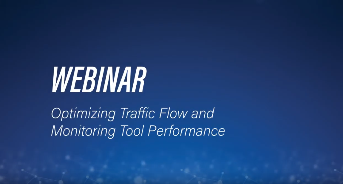 Optimizing Traffic Flow Webinar