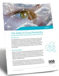 Cloud Monitoring Requires Visibility Into Network Traffic