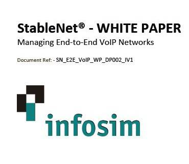 StableNet- White Paper Managing End-to-End VoIP Networks