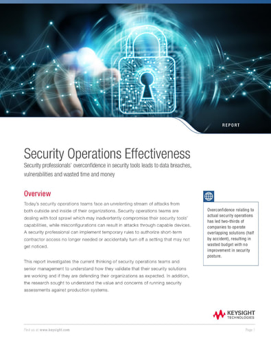 Security Operations Effectiveness