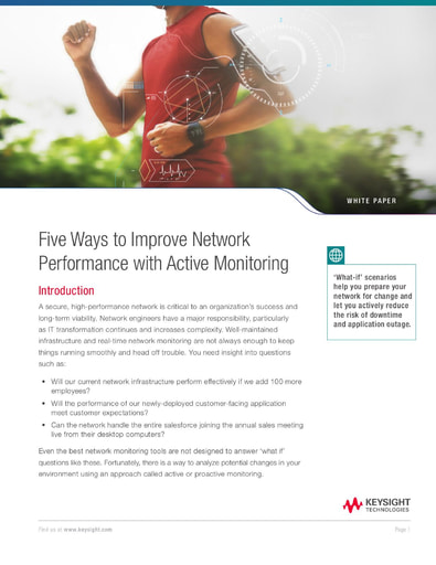 Five Ways to Improve Network Performance